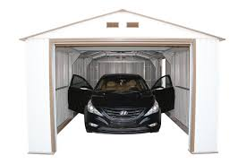 Garage Dimensions 3 Car by 50961 Duramax Imperial Metal Garage 12x20 Garage Shed