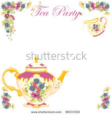 bridal tea party invitation bridal tea party invitation clipart free bridal tea party