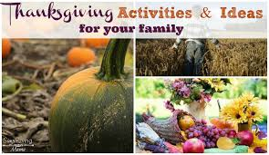 thanksgiving activities and ideas simple living