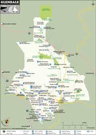 Culver City Map Glendale City Map Ca Glendale California Map