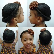 cute short hairstyles for bi racial hair mixed girls hairstyles flat twist into a side pony tail cute