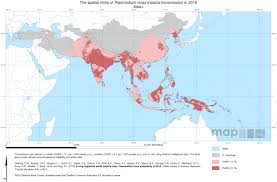 Pacific Region Map Asia Pacific Shrinking The Malaria Map