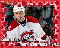 hockey valentines cards is in the air nhl s day cards days of y orr