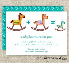 horse baby shower invitations choice image invitation design ideas
