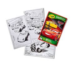 crayola giant coloring pages cars 3 oversized coloring pages