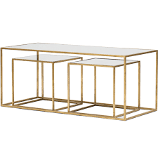 coffee table gold mirrored coffee table for amazing furniture