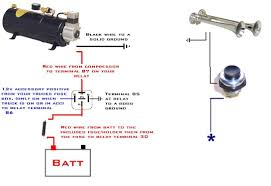 air horn wiring diagram saleexpert me
