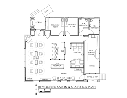 beauty salon floor plan design layout 1274 square foot salon