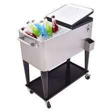 patio beverage cooler cart mobile cooler cart drink cooler with wheel alibaba
