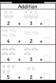 Free Printable Shapes Worksheets Addition Worksheet This Site Has Great Free Worksheets For