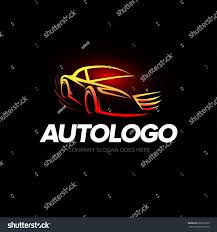 supercar logos modern auto company logo design car stock vector 628027850