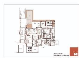 amazing modern house mosi floor plan nico van der meulen