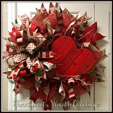 valentine decorations for the home valentine u0027s day deco mesh wreath with terri bow by twentycoats