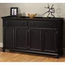 Black Buffet Table Rustic Credenza Accent Furniture Design Ideas And Decor