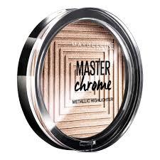 Maybelline Master Chrome maybelline master chrome highlighter gold 100 at wilko