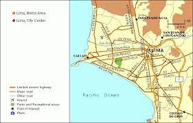 lima map lima metro map mapseek