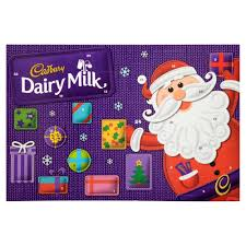 cadbury dairy milk advent calendar large 200g