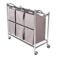 laundry sorters and hampers aliexpress com buy storagemaniac 3 section heavy duty laundry