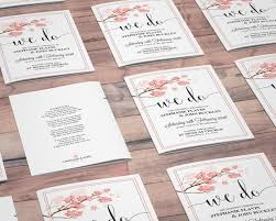 Wedding Booklets Floral Mass Booklet Now And Forever