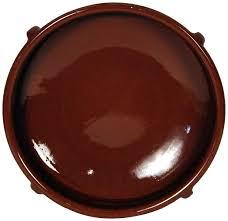 vaisselle en terre cuite amazing cookware plat circulaire en terre cuite naturelle 36 cm
