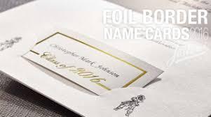 graduation name cards 15 foil border name cards
