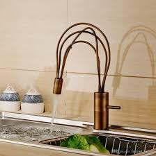 unique design rotation kitchen sink faucet deck mount single