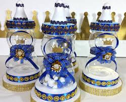 baby shower centerpieces boys royal prince baby shower centerpiece boys royal blue and gold