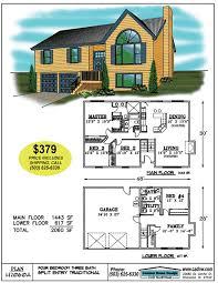 split entry floor plans 2060 sf split entry house plan