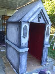Homemade Animatronic Halloween Props by How To Build A Halloween Mausoleum U2013 Unhipdotcom