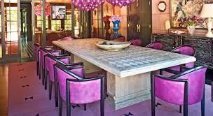 kelly wearstler purple dining area u2013 alice lane home interior design