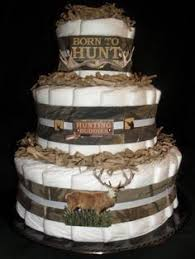 camo diaper cake born to hunt baby shower ideas pinterest