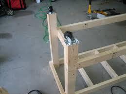 How To Build A Workbench by Garage Workbench Free Diy Garage Workbench Plans Stirring