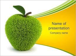 grass apple powerpoint template u0026 backgrounds id 0000001046
