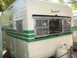 144 best green vintage caravans images on pinterest vintage