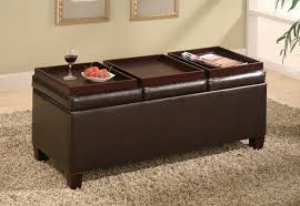 Leather Coffee Table Storage Endearing Leather Coffee Table And Coffee Table With Storage