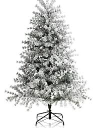 6ft woodland tree with artificial snow m s