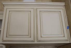 Dewils Creme Brulee Paint With by Glazed Cabinets And Faux Finish Wall Make This Kitchen Custom