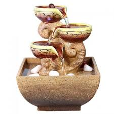Free Shipping Home Decor Decorative Indoor Water Fountains Office Desktop Gift Home