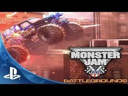 monster truck video for monster jam battlegrounds game ps3 playstation