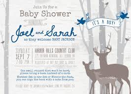 deer baby shower invitations marialonghi com