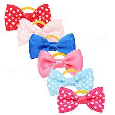 handmade bows handmade pet hair bows colorful pet dog cat hairpin at banggood