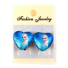 clip on earrings for kids party earrings frozen earring clip kid jewelry new frozen elsa