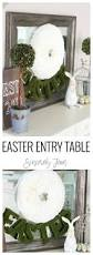 White Entry Table by Easter Entry Table Sincerely Jean