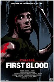 film rambo tribute rambo tribute poster art first blood movie films and film posters
