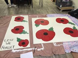 stanford blooming marvels paint poppies for remembrance day