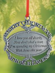 ornament for deceased loved one rainforest islands ferry