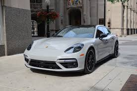 porsche panamera turbo 2017 white 2017 porsche panamera turbo stock b966a for sale near chicago