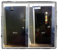 Commercial Bathroom Door Geared Aluminum Continuous Hinge Recommended By House Of Doors