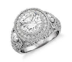filigree engagement rings bella vaughan for blue nile sorrento bezel diamond filigree ring