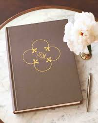 wedding guest book photo album 46 guest books from real weddings martha stewart weddings